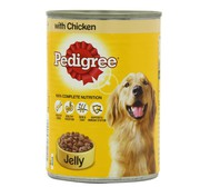Buy Pedigree Chicken in Jelly Can For Dog at Petgenie.in