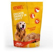 KENNEL KITCHEN CHICKEN CHUNKS IN GRAVY (100 GMS) – PACK OF 30