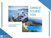 Greece Tourist Visa – Service Available at Reasonable Rate